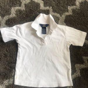 Girls white school 🏫 uniform top